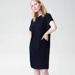 UNIVERSAL STANDARD Avenir Drop Waist Dress